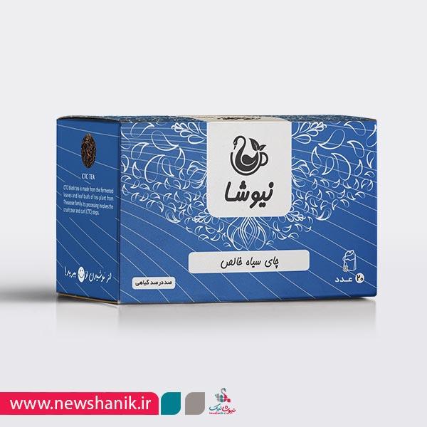 چای سیاه گرد (CTC) کیسه ای (20 عددی)