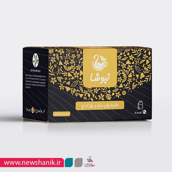 چای سیاه و بهارنارنج
