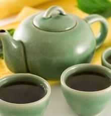 نوشیدنی چای سبز و سیر