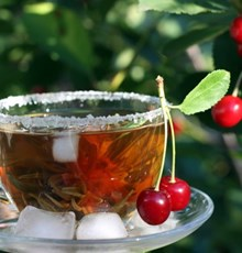 خواص چای آلبالو
