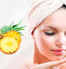 چطور با کمک آناناس، پوستمان را زیباتر کنیم؟