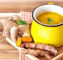 یک ترکیب شگفت انگیز چای+زردچوبه+زنجبیل